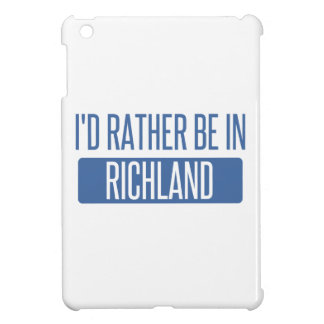 I'd rather be in Richmond CA Cover For The iPad Mini