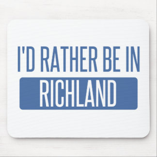 I'd rather be in Richmond CA Mouse Pad