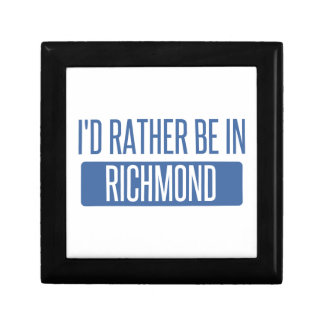 I'd rather be in Richmond IN Gift Box