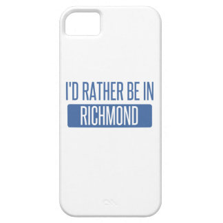 I'd rather be in Richmond IN iPhone 5 Covers