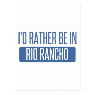 I'd rather be in Riverside Postcard