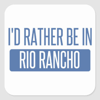 I'd rather be in Riverside Square Sticker