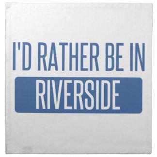 I'd rather be in Riverton Napkin