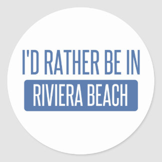 I'd rather be in Roanoke Classic Round Sticker