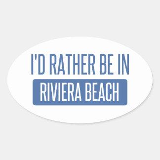 I'd rather be in Roanoke Oval Sticker