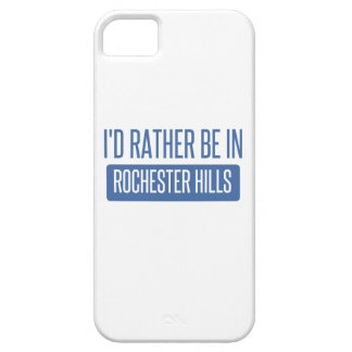 I'd rather be in Rochester MN iPhone 5 Covers