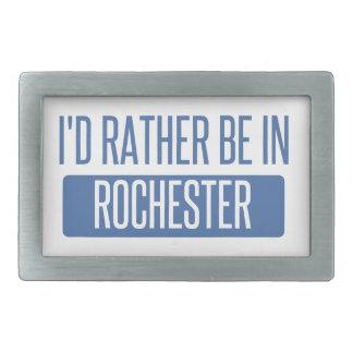 I'd rather be in Rock Hill Rectangular Belt Buckles