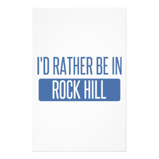 I'd rather be in Rock Island Stationery