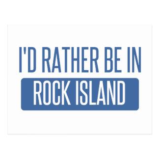 I'd rather be in Rockford Postcard