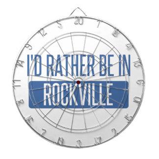I'd rather be in Rockville Dartboard