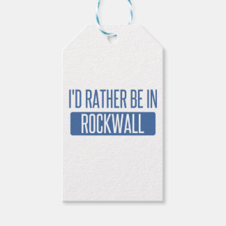I'd rather be in Rockwall Gift Tags
