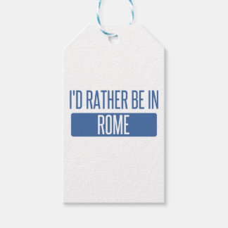 I'd rather be in Rome