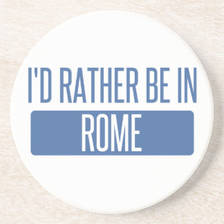 I'd rather be in Rome Coaster