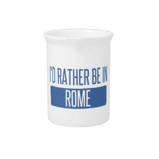 I'd rather be in Rome Pitcher