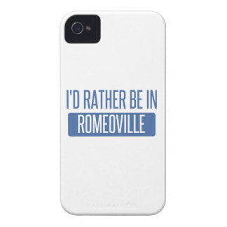 I'd rather be in Romeoville iPhone 4 Cover