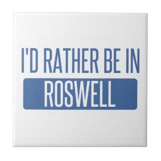 I'd rather be in Roswell GA Ceramic Tile