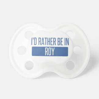 I'd rather be in Roy Dummy