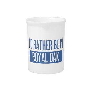 I'd rather be in Royal Oak Beverage Pitchers