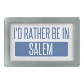 I'd rather be in Salem OR Belt Buckle