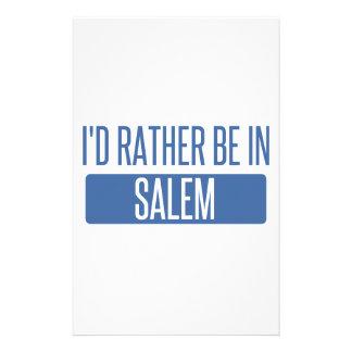 I'd rather be in Salem OR Stationery