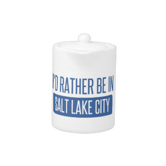 I'd rather be in Salt Lake City