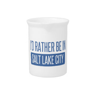 I'd rather be in Salt Lake City Pitcher