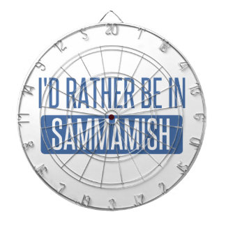 I'd rather be in Sammamish Dartboard