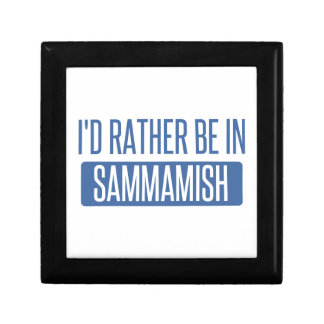 I'd rather be in Sammamish Gift Box