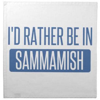 I'd rather be in Sammamish Napkin
