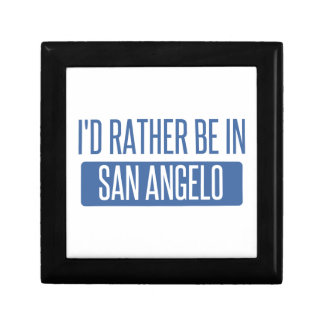 I'd rather be in San Angelo Gift Box