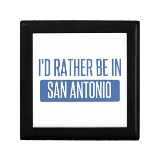 I'd rather be in San Antonio Gift Box