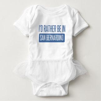 I'd rather be in San Bernardino Baby Bodysuit