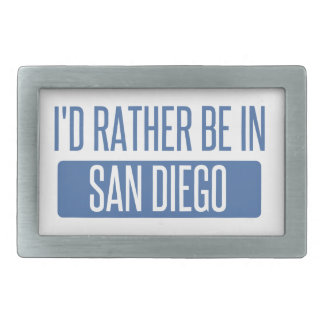 I'd rather be in San Diego Belt Buckles