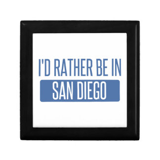 I'd rather be in San Diego Gift Box
