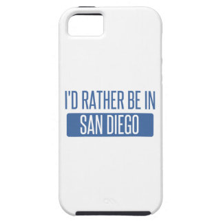 I'd rather be in San Diego iPhone 5 Case