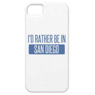 I'd rather be in San Diego iPhone 5 Covers