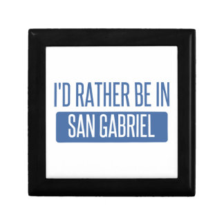 I'd rather be in San Gabriel Gift Box