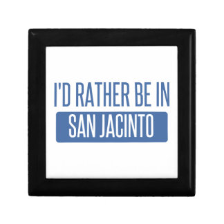 I'd rather be in San Jacinto Gift Box