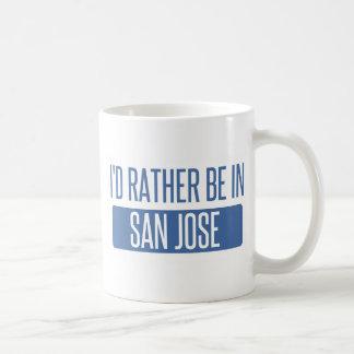 I'd rather be in San Jose Coffee Mug