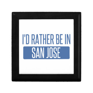 I'd rather be in San Jose Gift Box