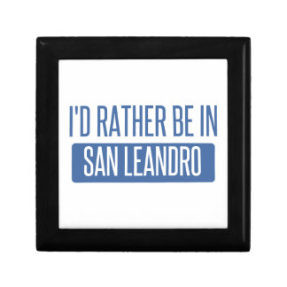 I'd rather be in San Leandro Gift Box