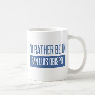 I'd rather be in San Luis Obispo Coffee Mug