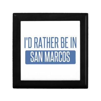 I'd rather be in San Marcos TX Gift Box