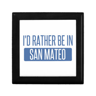 I'd rather be in San Mateo Gift Box