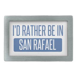 I'd rather be in San Rafael Belt Buckle