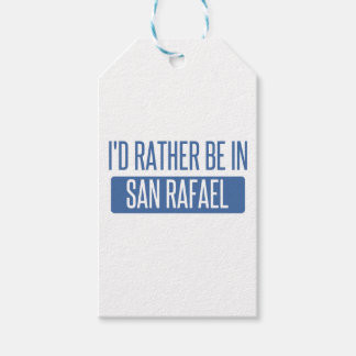 I'd rather be in San Rafael Gift Tags