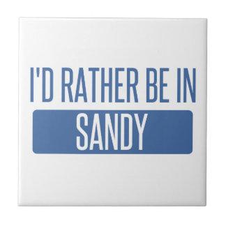 I'd rather be in Sandy Springs Ceramic Tile