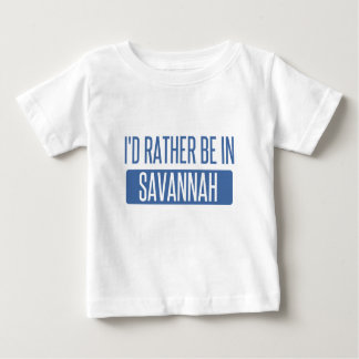 I'd rather be in Savannah Baby T-Shirt