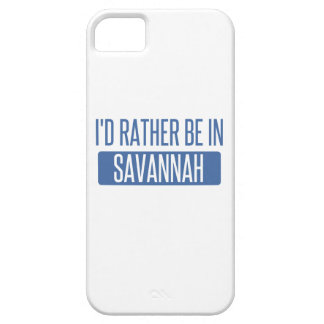 I'd rather be in Savannah Barely There iPhone 5 Case