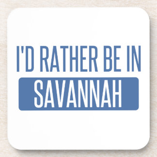 I'd rather be in Savannah Coaster